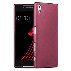 Silikon Schutzhülle Ultra Dünn Hülle für Sony Xperia Z5 Rot