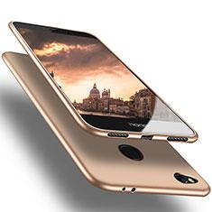 Silikon Schutzhülle Ultra Dünn Hülle S02 für Huawei Honor 8 Lite Gold