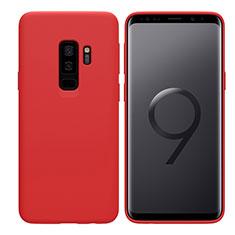 Silikon Schutzhülle Ultra Dünn Hülle S03 für Samsung Galaxy S9 Plus Rot