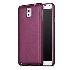 Silikon Schutzhülle Ultra Dünn Hülle Silikon für Samsung Galaxy Note 3 N9000 Violett