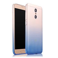 Silikon Schutzhülle Ultra Dünn Tasche Durchsichtig Farbverlauf für Xiaomi Redmi Pro Blau