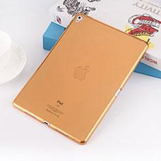 Silikon Schutzhülle Ultra Dünn Tasche Durchsichtig Transparent für Apple iPad Pro 9.7 Gold