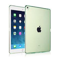 Silikon Schutzhülle Ultra Dünn Tasche Durchsichtig Transparent für Apple iPad Pro 9.7 Grün