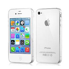 Silikon Schutzhülle Ultra Dünn Tasche Durchsichtig Transparent für Apple iPhone 4S Klar