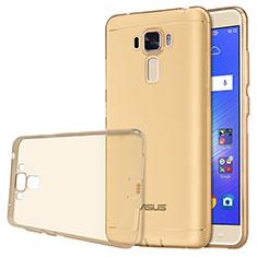 Silikon Schutzhülle Ultra Dünn Tasche Durchsichtig Transparent für Asus Zenfone 3 Laser Gold