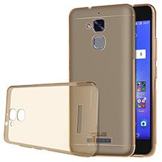Silikon Schutzhülle Ultra Dünn Tasche Durchsichtig Transparent für Asus Zenfone 3 Max Gold