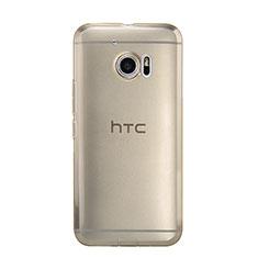 Silikon Schutzhülle Ultra Dünn Tasche Durchsichtig Transparent für HTC 10 One M10 Gold