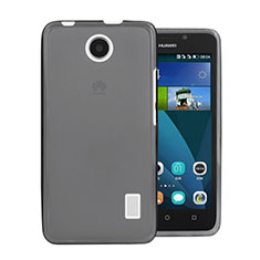 Silikon Schutzhülle Ultra Dünn Tasche Durchsichtig Transparent für Huawei Ascend Y635 Grau