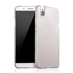 Silikon Schutzhülle Ultra Dünn Tasche Durchsichtig Transparent für Huawei Honor 7i shot X Grau