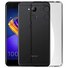 Silikon Schutzhülle Ultra Dünn Tasche Durchsichtig Transparent für Huawei Honor V9 Play Grau