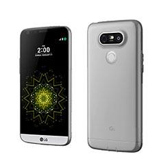 Silikon Schutzhülle Ultra Dünn Tasche Durchsichtig Transparent für LG G5 Grau
