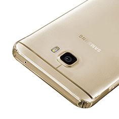 Silikon Schutzhülle Ultra Dünn Tasche Durchsichtig Transparent für Samsung Galaxy C7 SM-C7000 Gold