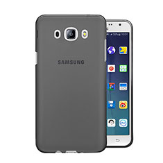 Silikon Schutzhülle Ultra Dünn Tasche Durchsichtig Transparent für Samsung Galaxy J5 (2016) J510FN J5108 Grau