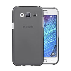 Silikon Schutzhülle Ultra Dünn Tasche Durchsichtig Transparent für Samsung Galaxy J5 SM-J500F Grau