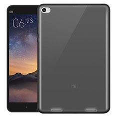 Silikon Schutzhülle Ultra Dünn Tasche Durchsichtig Transparent für Xiaomi Mi Pad 3 Grau