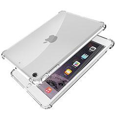 Silikon Schutzhülle Ultra Dünn Tasche Durchsichtig Transparent H01 für Apple iPad Mini 3 Klar