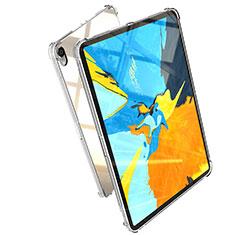 Silikon Schutzhülle Ultra Dünn Tasche Durchsichtig Transparent H01 für Apple iPad Pro 11 (2018) Klar