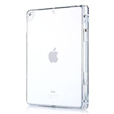Silikon Schutzhülle Ultra Dünn Tasche Durchsichtig Transparent H01 für Apple New iPad 9.7 (2017) Klar