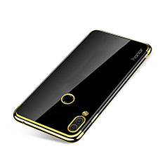 Silikon Schutzhülle Ultra Dünn Tasche Durchsichtig Transparent H01 für Huawei Honor Note 10 Gold