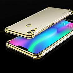Silikon Schutzhülle Ultra Dünn Tasche Durchsichtig Transparent H01 für Huawei Honor Play 8C Gold