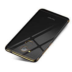 Silikon Schutzhülle Ultra Dünn Tasche Durchsichtig Transparent H01 für Huawei Honor V9 Play Gold