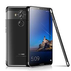 Silikon Schutzhülle Ultra Dünn Tasche Durchsichtig Transparent H01 für Huawei Mate 10 Pro Schwarz