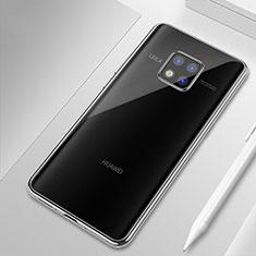 Silikon Schutzhülle Ultra Dünn Tasche Durchsichtig Transparent H01 für Huawei Mate 20 Pro Klar