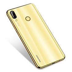 Silikon Schutzhülle Ultra Dünn Tasche Durchsichtig Transparent H01 für Huawei Nova 3 Gold