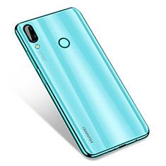 Silikon Schutzhülle Ultra Dünn Tasche Durchsichtig Transparent H01 für Huawei Nova 3 Grün