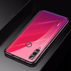 Silikon Schutzhülle Ultra Dünn Tasche Durchsichtig Transparent H01 für Huawei Nova 4 Schwarz