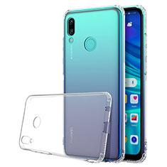 Silikon Schutzhülle Ultra Dünn Tasche Durchsichtig Transparent H01 für Huawei P Smart (2019) Klar