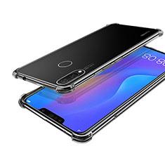 Silikon Schutzhülle Ultra Dünn Tasche Durchsichtig Transparent H01 für Huawei P Smart+ Plus Klar