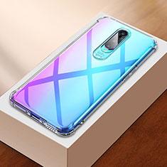Silikon Schutzhülle Ultra Dünn Tasche Durchsichtig Transparent H01 für Oppo R17 Pro Klar