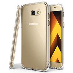 Silikon Schutzhülle Ultra Dünn Tasche Durchsichtig Transparent H01 für Samsung Galaxy A7 (2017) A720F Klar