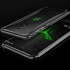 Silikon Schutzhülle Ultra Dünn Tasche Durchsichtig Transparent H01 für Xiaomi Black Shark Helo Schwarz