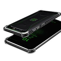 Silikon Schutzhülle Ultra Dünn Tasche Durchsichtig Transparent H01 für Xiaomi Black Shark Klar