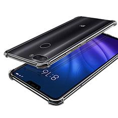 Silikon Schutzhülle Ultra Dünn Tasche Durchsichtig Transparent H01 für Xiaomi Mi 8 Lite Klar