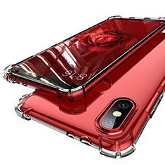 Silikon Schutzhülle Ultra Dünn Tasche Durchsichtig Transparent H01 für Xiaomi Mi A2 Klar