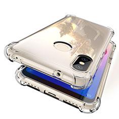 Silikon Schutzhülle Ultra Dünn Tasche Durchsichtig Transparent H01 für Xiaomi Mi A2 Lite Klar