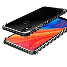 Silikon Schutzhülle Ultra Dünn Tasche Durchsichtig Transparent H01 für Xiaomi Mi Mix 2S Klar