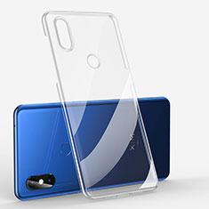 Silikon Schutzhülle Ultra Dünn Tasche Durchsichtig Transparent H01 für Xiaomi Mi Mix 3 Klar