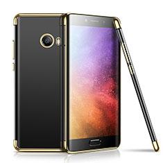 Silikon Schutzhülle Ultra Dünn Tasche Durchsichtig Transparent H01 für Xiaomi Mi Note 2 Special Edition Gold