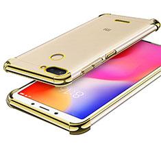 Silikon Schutzhülle Ultra Dünn Tasche Durchsichtig Transparent H01 für Xiaomi Redmi 6 Gold