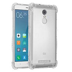 Silikon Schutzhülle Ultra Dünn Tasche Durchsichtig Transparent H01 für Xiaomi Redmi Note 3 Klar