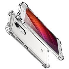 Silikon Schutzhülle Ultra Dünn Tasche Durchsichtig Transparent H01 für Xiaomi Redmi Note 4X Klar
