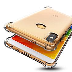 Silikon Schutzhülle Ultra Dünn Tasche Durchsichtig Transparent H01 für Xiaomi Redmi Note 5 Klar