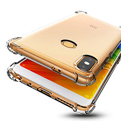 Silikon Schutzhülle Ultra Dünn Tasche Durchsichtig Transparent H01 für Xiaomi Redmi Note 5 Pro Klar