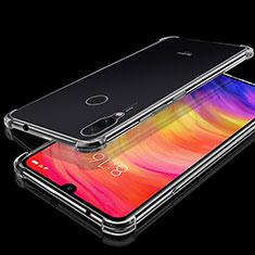 Silikon Schutzhülle Ultra Dünn Tasche Durchsichtig Transparent H01 für Xiaomi Redmi Note 7 Klar