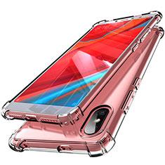 Silikon Schutzhülle Ultra Dünn Tasche Durchsichtig Transparent H01 für Xiaomi Redmi S2 Klar