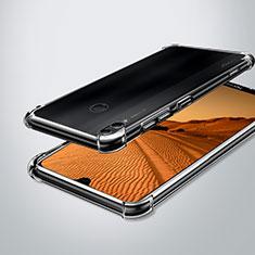 Silikon Schutzhülle Ultra Dünn Tasche Durchsichtig Transparent H02 für Huawei Enjoy Max Klar